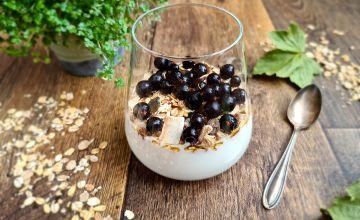 Hi!Fiber kiudainerikas jogurt müsli ja vahtrasiirupiga