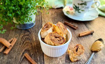 Kõige lihtsamad kaneeli-maapähklivõi küpsised