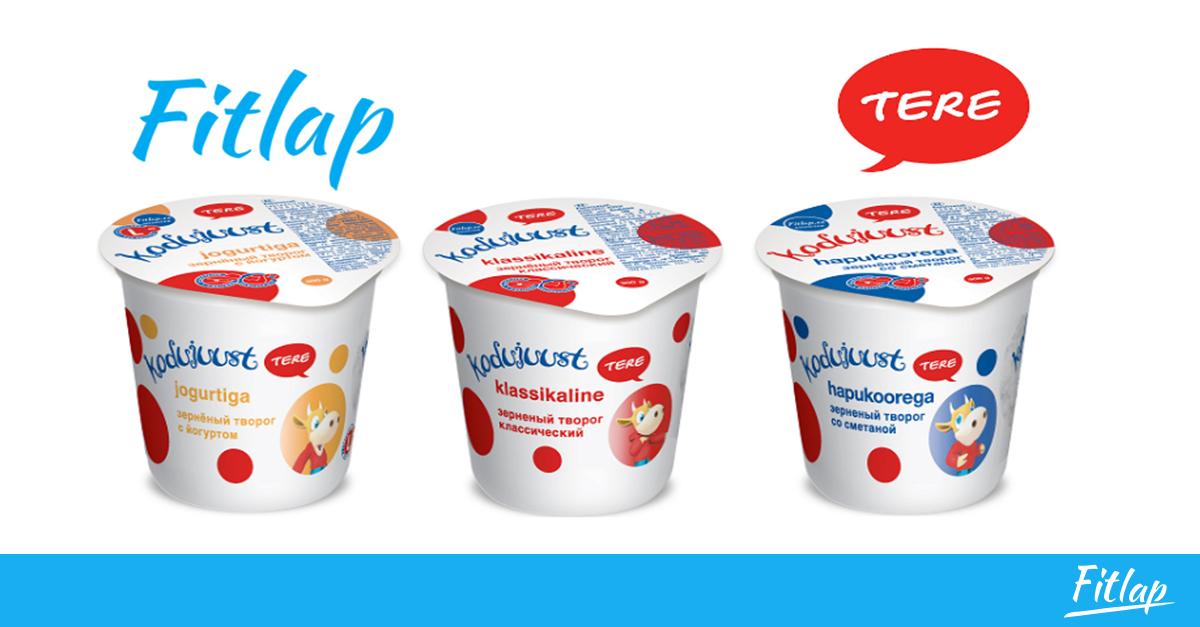 Fitlap ja Tere piimatööstus alustasid koostööd