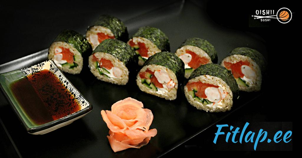 Fitlap ja Oishii Sushi tõid turule kaks tervislikku sushit!