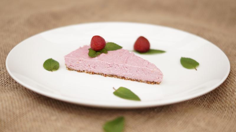 Cheesecake maasikatega (laktoosivaba)