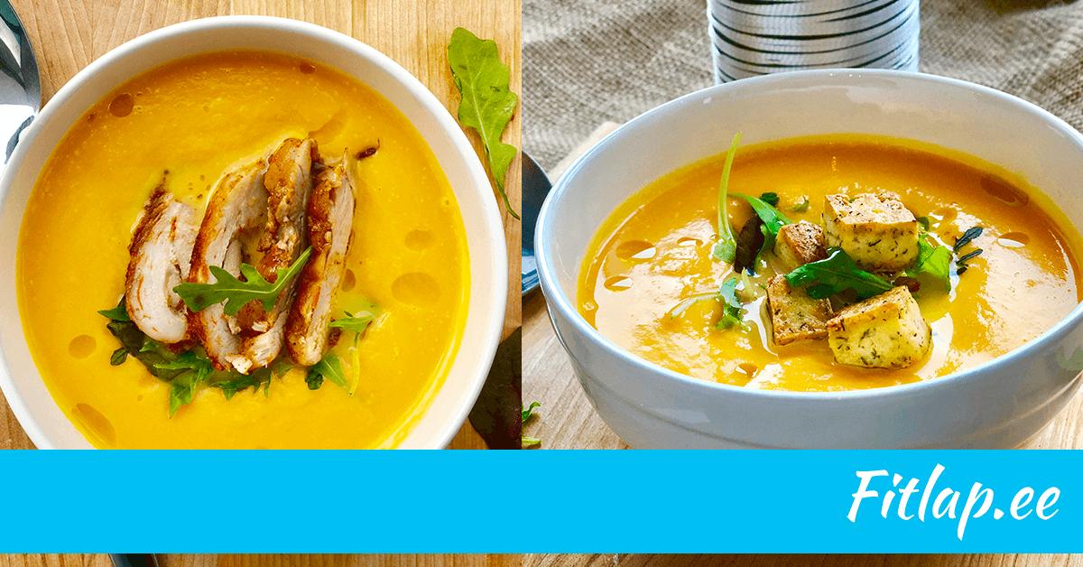 Vegan supp vs kõigesööja supp