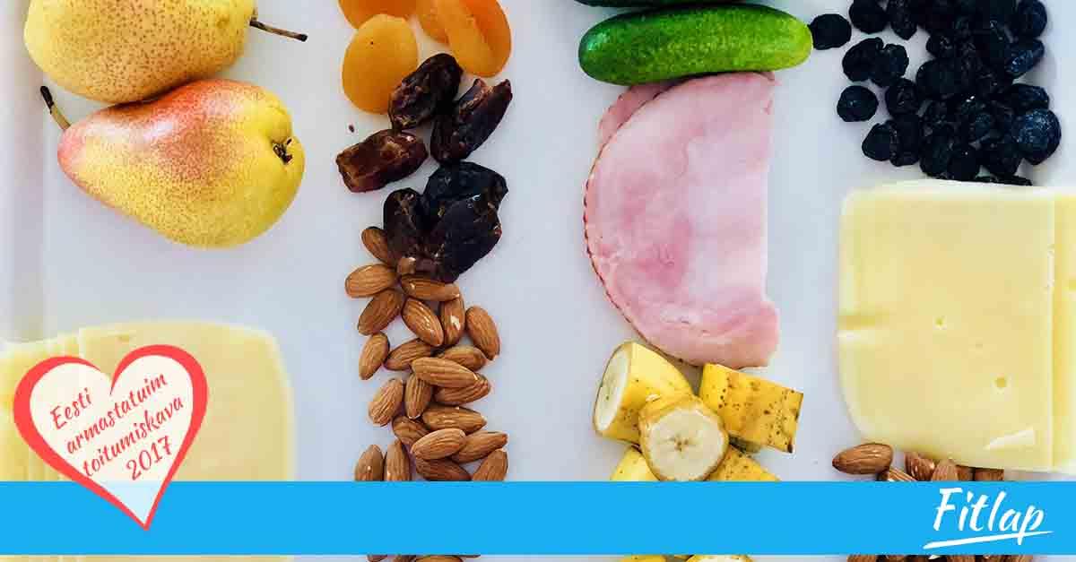 Tervislikud söögid, mida lubatakse lennukisse