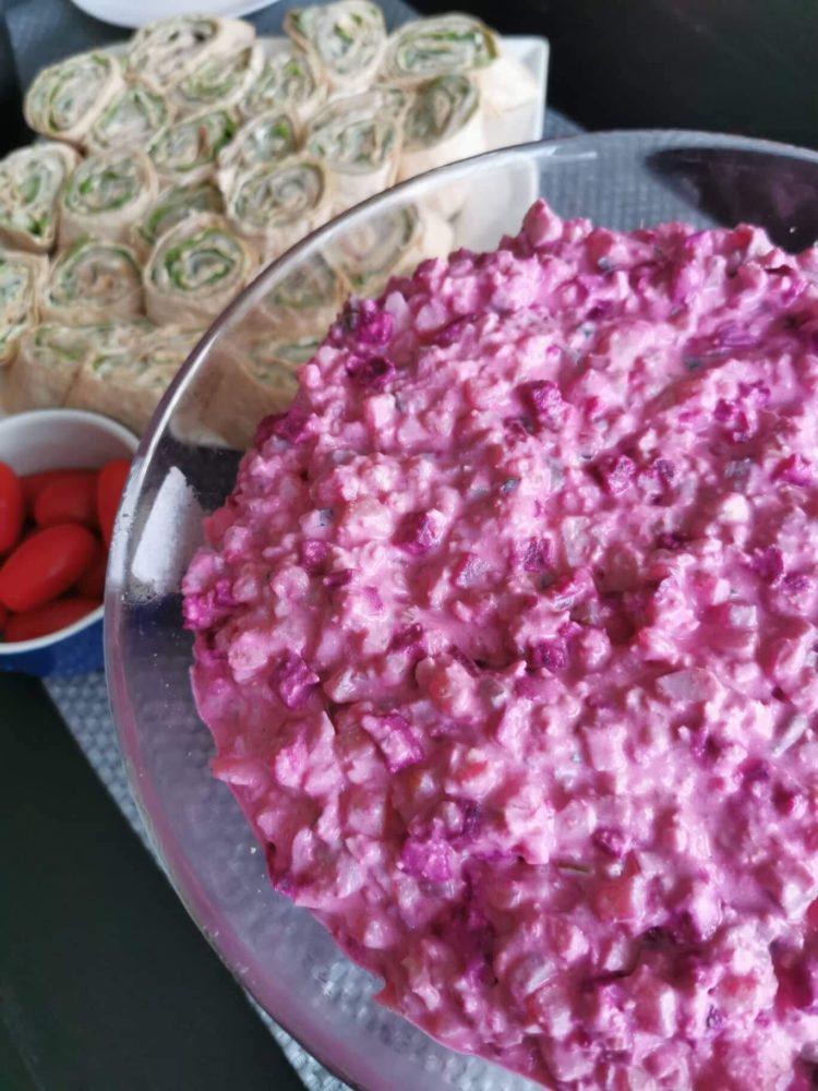 Fitlapi toidud peolaual