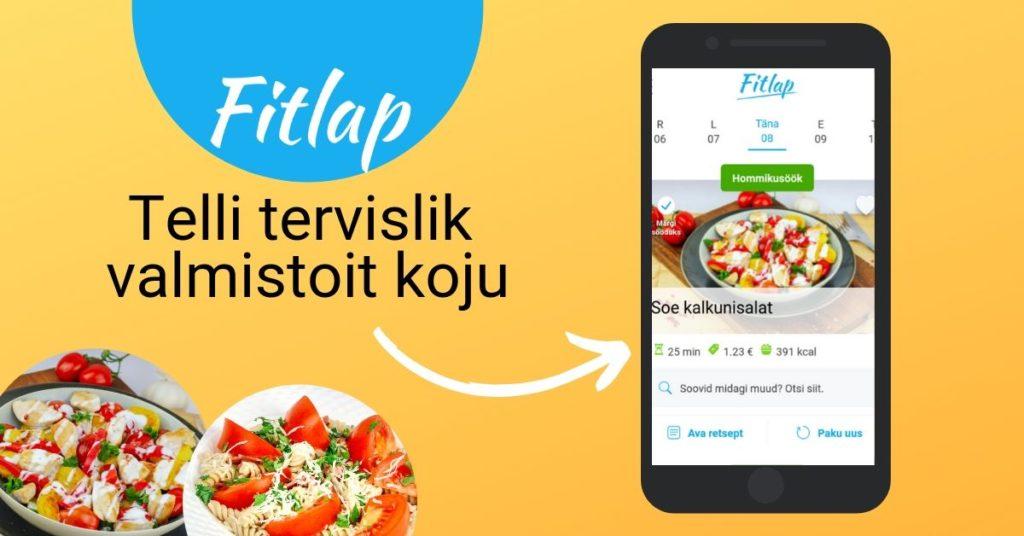 Fitlap alustas tervislike toitude kojuvedu
